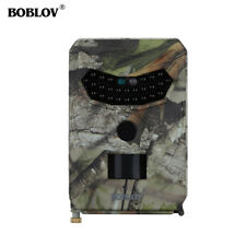 PR-100 12MP HD1080P Hunting Trail Camera Night Vision LED Waterproof Wildlife