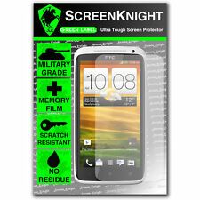 ScreenKnight HTC One XL FRONT SCREEN PROTECTOR invisible Military Grade shield