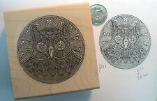 Mandala style Owl  Rubber stamp p11