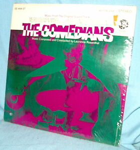 LP Laurence Rosenthal THE COMEDIANS ost Burton/Taylor FACTORY SEALED!