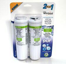 Puriclean Ii Filter 2-Pack (For: Whirlpol, Maytag, KitchenAid, Amana, Jenn-Air)