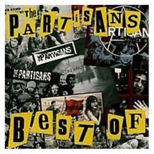 The Partisans Best Of CD NEW SEALED Punk Oi! Police Story/17 Years Of Hell+