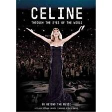 CELINE DION THROUGH THE EYES OF THE WORLD DVD ALL REGIONS NTSC NEW