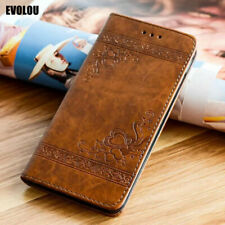 Embossed Flip Leather Case for Huawei P20 Lite Honor 8 Lite P10 P9 P30 Pro P40