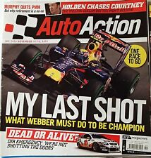 Auto Action Magazine 2010 #1416 Nov 10-Nov 16 MARK WEBBER VILLENEUVE BOURDAIS