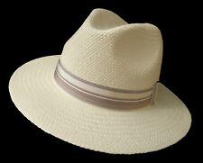 Sombrero panamá travellar clásico precisamente hutkrempe de fibras ecuador procedentes de las Toquillas
