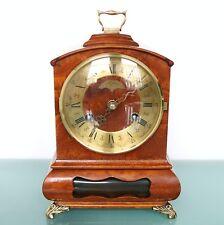 WARMINK WUBA BIEDEMEIJER Mantel TOP!! Clock Dutch Vintage HIGH GLOSS! BELL Chime