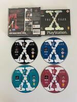 The X-Files PS1 - No Manual - VGC - Free P&P