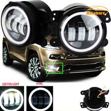 2X 30W 4 inch Led Fog Lights DRL Lamps For Dodge Magnum 2005~2008 Bumper Tractor