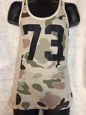 New Men's Buffalo David Bitton Camouflage Tank Top Size medium