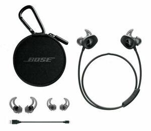 Bose SoundSport Wireless In Ear Bluetooth Headphones NFC Bose Black
