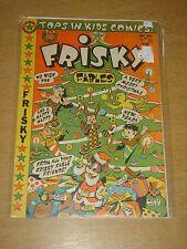 FRISKY FABLES #40 VG+ (4.5) STAR COMICS CHRISTMAS 1950