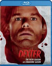 NEW  3BLU RAY SET -Dexter: The Complete Fifth Season -Michael C. Hall, Julia Sti