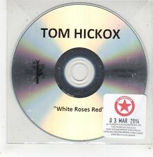 (GE115) Tom Hickox, White Roses Red - 2014 DJ CD