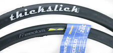 2 QTY WTB Freedom ThickSlick Sport 700c x 28 Road Bike Tires Puncture Resist Blk