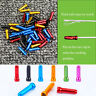 12PCS ANODISED COLOURED ALLOY BIKE CYCLING BRAKE GEAR INNER CABLE END CAPS #HD3