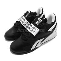 Reebok Legacy Lifter II 2 Black White Men Weightlifting Training Shoes FU9459