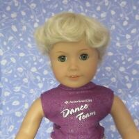 Kemper TRACY Pale Blond Full Cap Doll Wig Sz 12-13 Short Wavy Boy or Girl