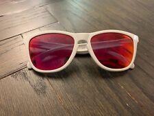 Oakley Frogskins Polarized Sunglasses White Pink