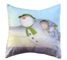 The Snowman Raymond Briggs Fabric Cushion Alien Couture
