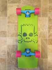 "New listing Santa Cruz Bart Simpson Cruzer Complete Skateboard - 8.9"" x 27"""
