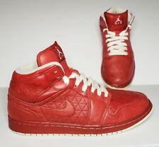RARE Nike Air Jordan Shoes 1 Phat Premier Quilt Varsity Red Sz 10.5 375173-600
