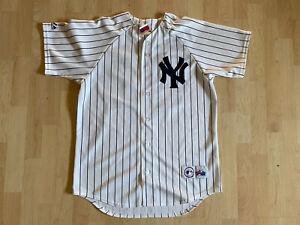Rare Vintage Majestic MLB Yankees Elston Howard Jersey Size Medium
