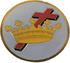 Order of the Eastern Star Crown and Cross Car Emblem-New!