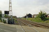 PHOTO  LEICESTERSHIRE  SITE OF COALVILLE TOWN RAILWAY STATION1988