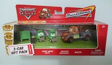DISNEY PIXAR CARS CHICK HICKS PITTY BRUISER BUKOWSKI MATER DIECAST 3 CARS PACK