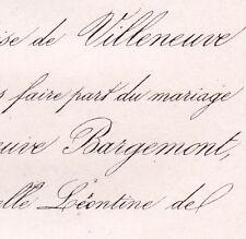 Ferdinand De Villeneuve Bargemon Nice 1860 Rohan-Chabot