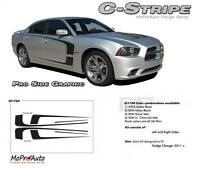 Large C Stripe Side Scallop 3M Pro Grade Decal Graphic 11 2012 2013 2014 Charger