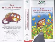 VHS :  SCHOLASTIC WESTON WOODS LEO THE LATE BLOOMER#