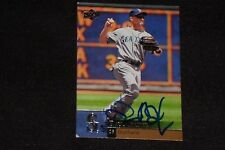 RAUL IBANEZ 2009 UPPER DECK SIGNED AUTOGRAPHED CARD #335 MARINERS