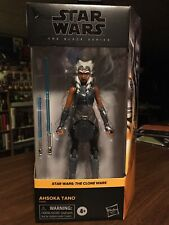 Star Wars The Black Series Ahsoka Tano Walmart Exclusive Clone Wars New