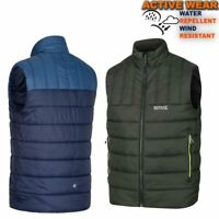 Mens Padded Body Warmer Jacket Hiking Lightweight Waistcoat Gilet Top Iceb