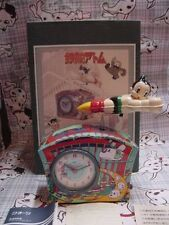 ASTRO BOY TIN CLOCK  PLAYS ASTROBOY THEME music box vintage limited japan tezuka