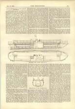 1888 Twin Screw Ferry Steamer Clutha Steamship Propulsion Robert Mansel