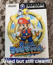 Super Mario Sunshine Nintendo Gamecube GC JP Japan Import Tested&Works well