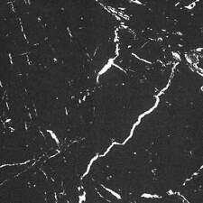 Carrara Marble Effect Black Polished Porcelain Tiles - SAMPLE