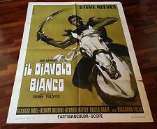 AGI MURAD MANIFESTO IL DIAVOLO BIANCO (STEVE REEVES - 1959 )   10/6/16