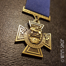 WW2 NAVY VICTORIA CROSS MEDAL HIGHEST MILITARY AWARD CONSPICUOUS BRAVERY REPLICA