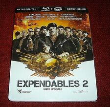 The Expendables 2 *Blu - Ray Steelbook* / France / Brand New / Pls READ Descr.