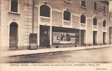 CPA 73 CHAMBERY CENTRAL CINEMA PLACE PORTE REINE AU CENTRE DE LA VILLE (cpa pas
