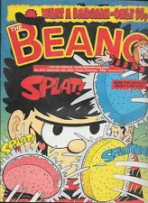 THE BEANO No.3047 Dec 9th.. 2000 WOW ! THE MENACE WON'T LIKE THIS Pre-Owned