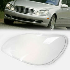 Headlight Lens Plastic Cover Shell Replace Fit for Mercedes Benz W220 1998-2006