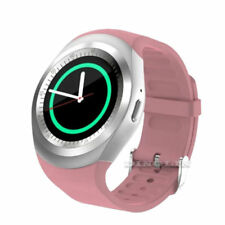 2018 Bluetooth Smart Watch Phone Mate Round Touch Screen SIM For Android Samsung