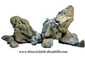 Set rocce in resina per acquario hardscape aquascape Rocks Rocas aquarium