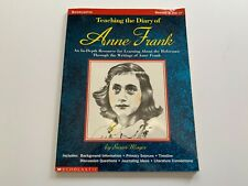 Teaching the Diary of Anne Frank Grades 5+ Holocaust WWII History Scholastic