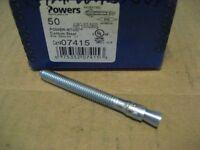 AA5112-25 POWERS 05034 1//2X4 HEX NUT LOK//BOLT